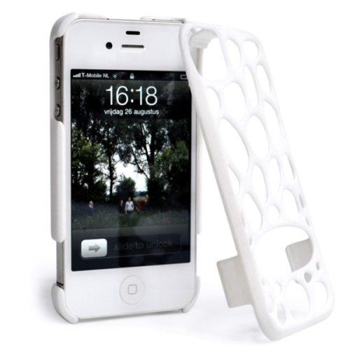 Freshfiber Διπλή Θήκη Pebble για iPhone 4/4S - Λευκό