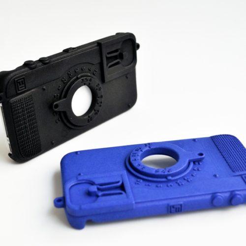 Freshfiber Θήκη Ρετρό Φωτογραφική Μηχανή για iPhone 4/4S - Μπλε