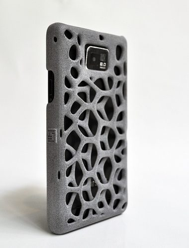 Freshfiber Θήκη 3D Macedonia για Samsung Galaxy S II - Γκρι
