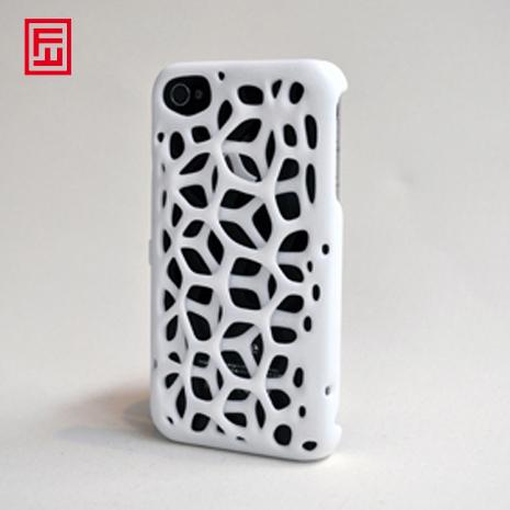 Freshfiber Θήκη 3D Macedonia για iPhone 4/4S - Λευκό