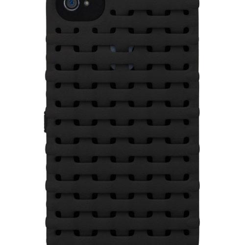 Freshfiber Θήκη 3D Weave Μαύρη για iPhone 4/4S