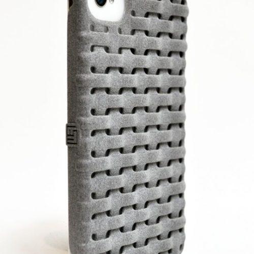Freshfiber Θήκη 3D Weave Γκρι για iPhone 4/4S
