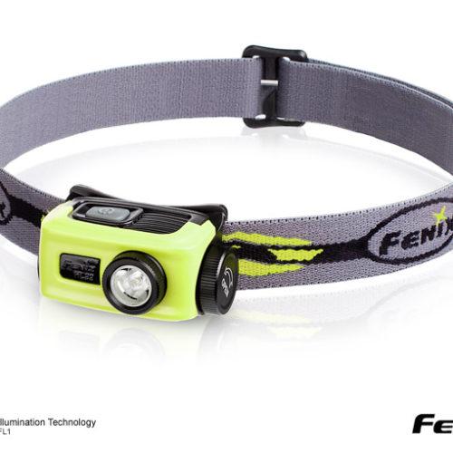 Fenix HL22 XP-E R4 LED Flashlight Green