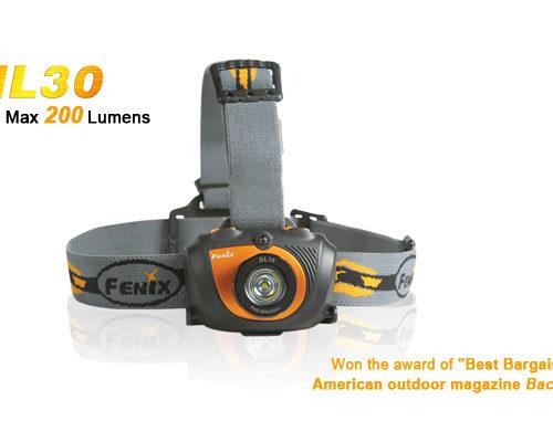 Fenix HL30 XP-G (R5) LED Flashlight Yellow