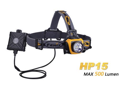 Fenix HP15 XP-L2 LED Flashlight Grey