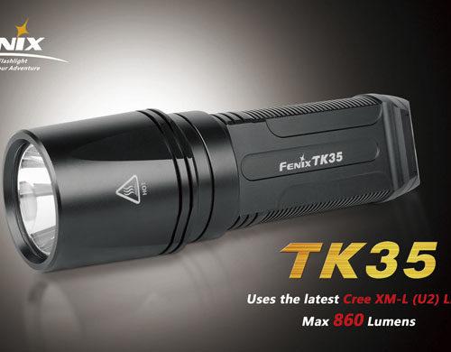 Fenix TK35-XM-L2 (U2) LED Flashlight