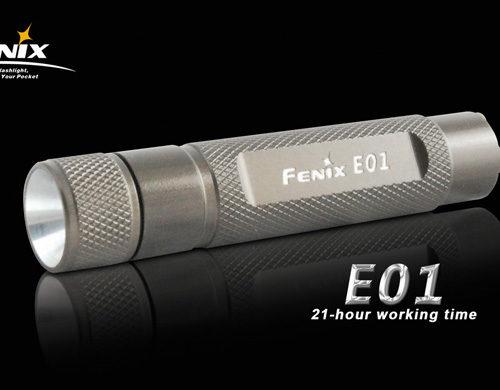 Fenix E01 LED Flashlight