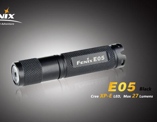 Fenix E05 LED Flashlight Black