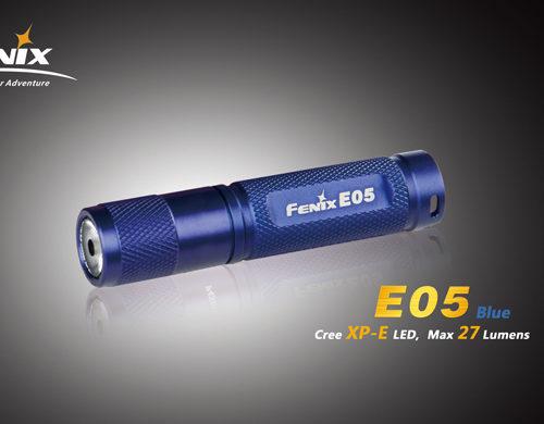 Fenix E05 LED Flashlight Blue