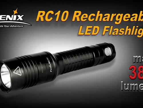Fenix RC10 LED Flashlight