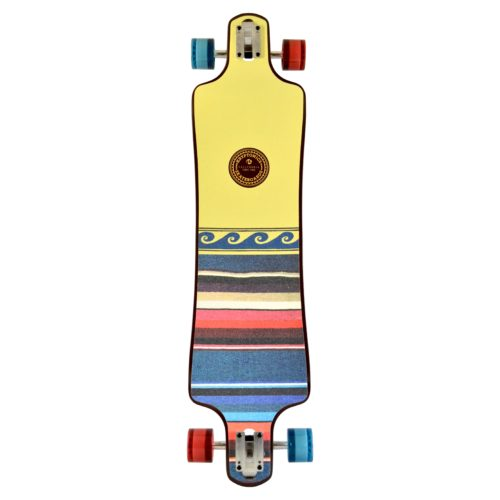 "Kryptonics 40"" Free Spirit Drop Down Longboard - California Series"
