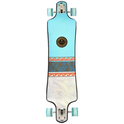 "Kryptonics 40"" Islander Drop Down Longboard - California Series"