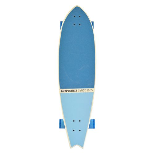 Kryptonics 40'' Weave Art Pin-Fish Longboard - California Series