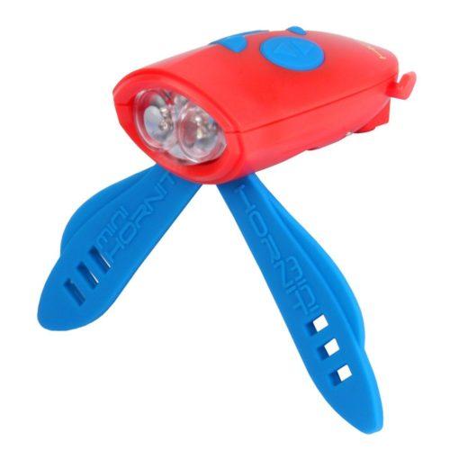 Mini Hornit red - η πιο έξαλλη κόρνα-φακός για ποδήλατα και πατίνια