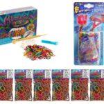 Κιτ Rainbow Loom με αργαλειό Monster Tail