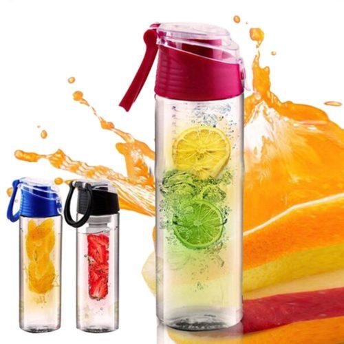 Μπουκάλι 800ml με αποσπώμενο φίλτρο για φρούτα