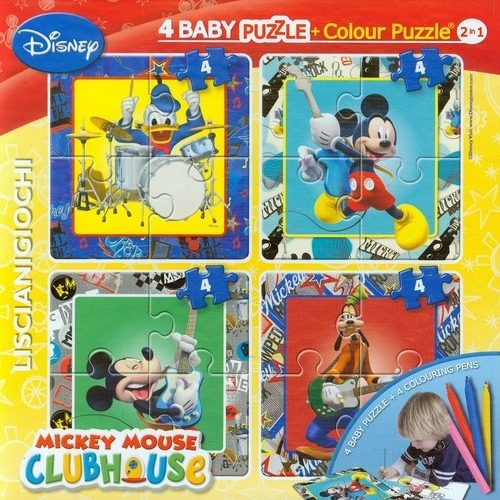 4 baby Παζλ Mickey Mouse LISCIANI 46881