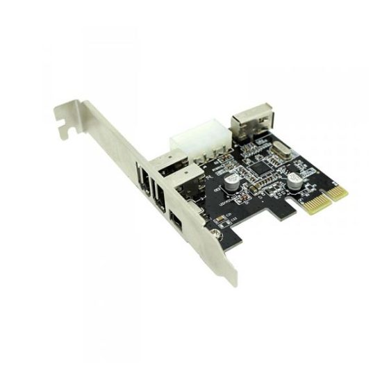 3  1 Port IEEE PCI Express card Approx PCIEFW3PV2