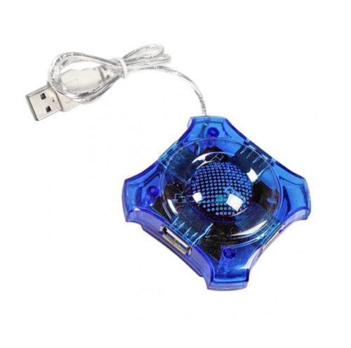 4-PORT HUB USB 2.0 EA150B μπλε