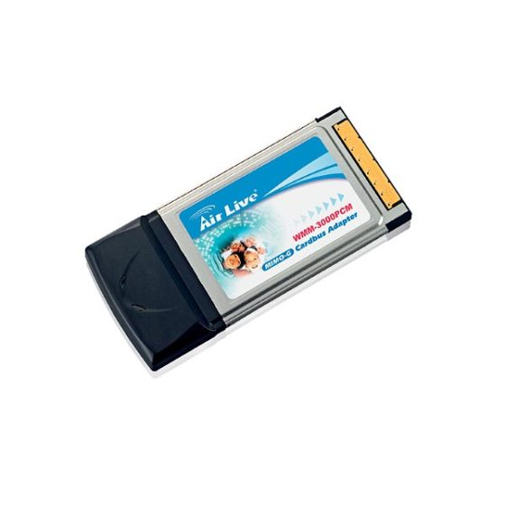 AIRLIVE WMM-3000PCM Wireless CARDBUS adapter