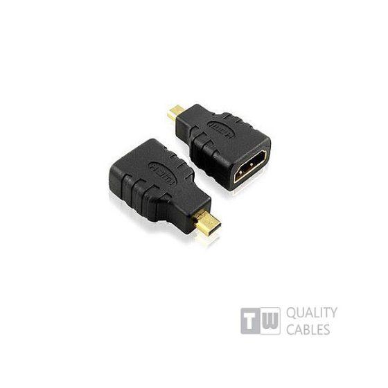 Adaptor Micro HDMI Male To HDMI Female