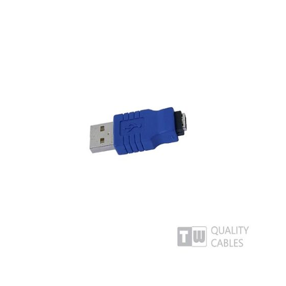 Adaptor USB A/M ΜΙΝΙ B 5P
