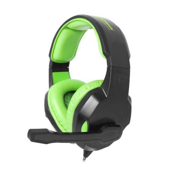 Cobra Ακουστικό με μικρόφωνο gaming Πράσινο EGH350G