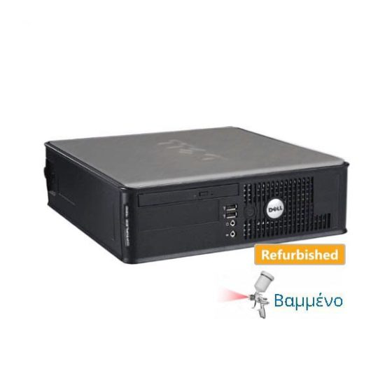 DELL 760 SFF C2D-E8400/4GB/250GB/DVD-RW Grade A Refurbished PC
