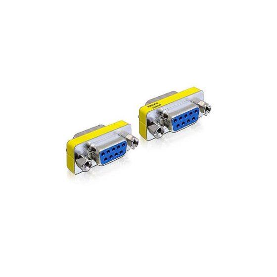 DELOCK Adaptor μετατροπής σειριακής θύρας SUB-D9 F/F 65008