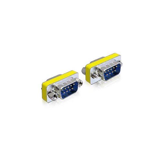 DELOCK Adaptor μετατροπής σειριακής θύρας SUB-D9 M/M 65009