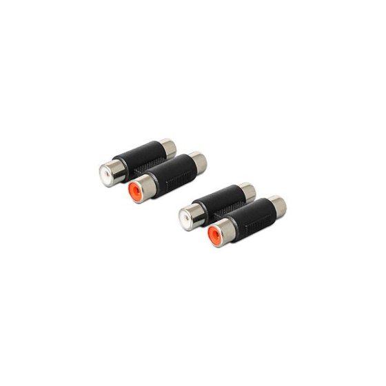 DELOCK Adaptor 2 Rca F/F 84439
