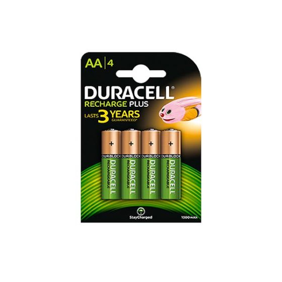 DURACELL DC Suprm NM 4BCd 1300mA SCA2450 LR6 AA 4τεμ  Επαναφορτιζόμενη Μπαταρία