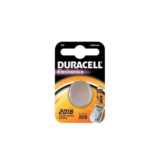 DURACELL ELECTRONICS 3V LM2016 CR2016 1τεμ Μπαταρία Λιθίου