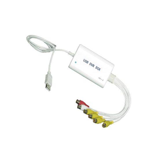 DVR Box T3104u USB With Audio  White