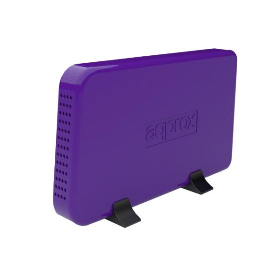 Enclosure 3.5'' SATA USB 3.0 Purple Approx