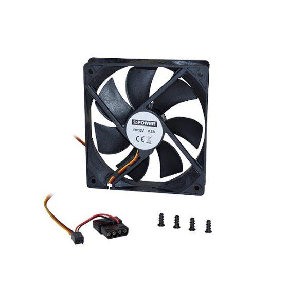 """Fan/Cooler 12""""For Computer Case Black"""