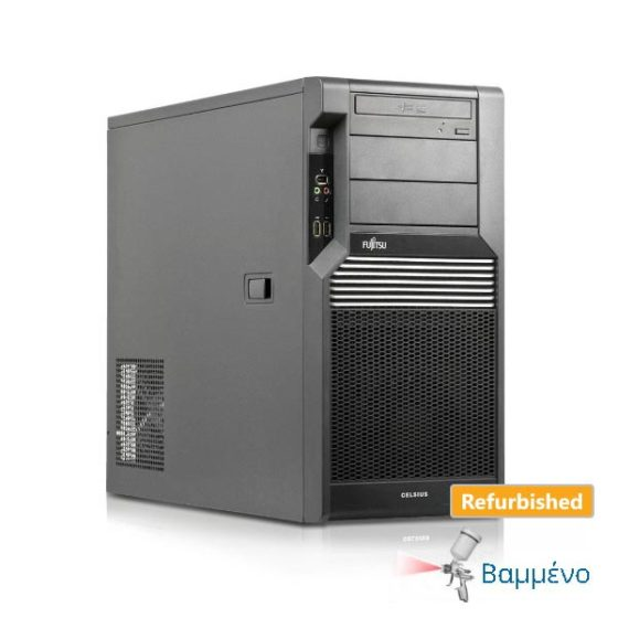 Fujitsu Workstation Celsius M470 Tower Xeon E5503/4GB DDR3/320GB/Nvidia 256MB/DVD/7P Grade A Refurbi