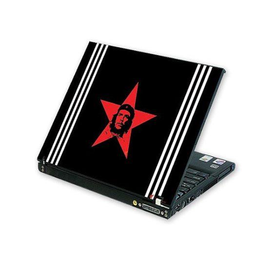 H-863  Laptop Skin Red Star