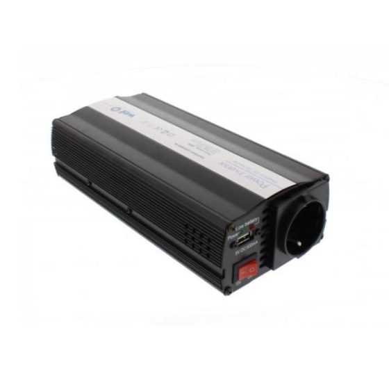 Inverter 600W 12V DC σε 220V AC WELL με θύρα USB