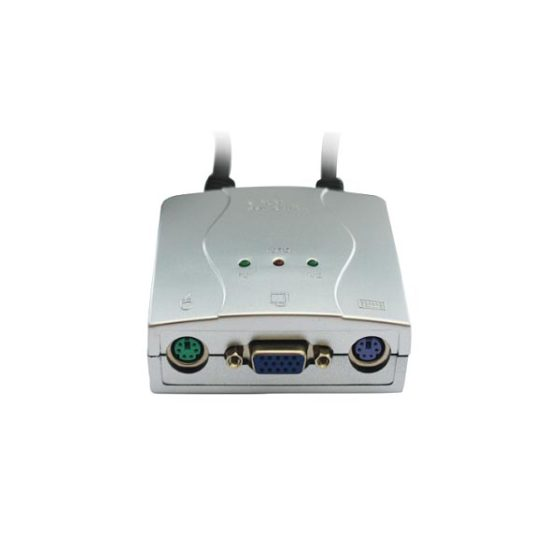 KVM 2 Port PS2 Auto
