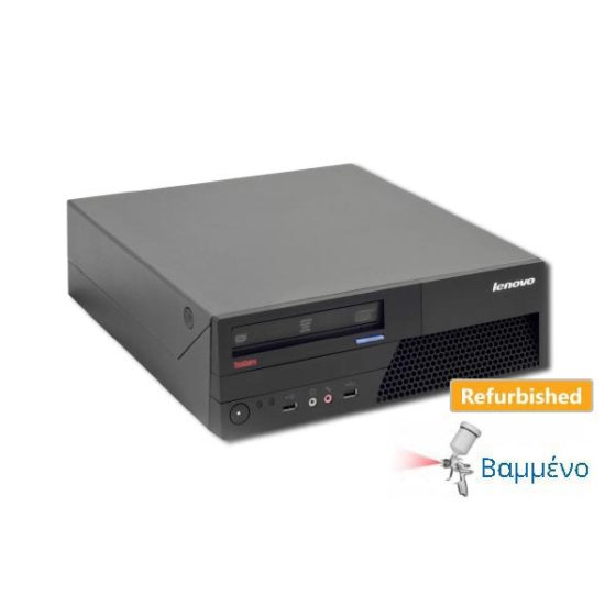 Lenovo M58 SFF C2D-E8400/4GB/250GB/DVD Grade AB Refurbished PC