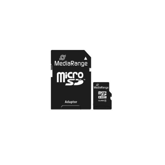 MediaRange 32GB Micro SDHC Card Class 10 w/SD adaptor