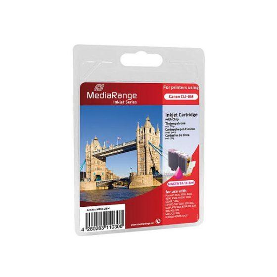 MediaRange Inkjet CLI-8M  Magenta IP4200/4300/5200/5200R/5300/4500/6600D/6700D
