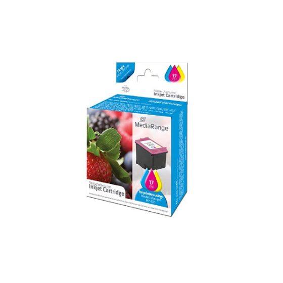 MediaRange Inkjet  for 300XL (CC644EE) COLOR 17ml Dj D1600/1660/2500/2530/2545/2560/2566/2600/2660/5