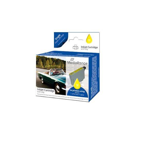 MediaRange Inkjet  for T0714 YELLOW 14ml  Stylus BX310