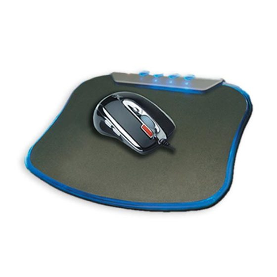 Mouse  Pad S-Hp102 With 4port USB Cliptech