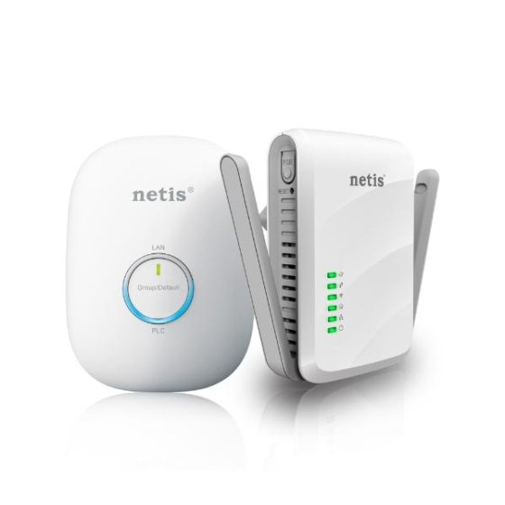 NETIS PL7622KIT 300Mbps AV600 Wireless Powerline Adapter Kit
