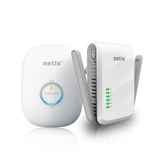 NETIS PL7622KIT 300Mbps AV600 Wireless Powerline Adapter Kit