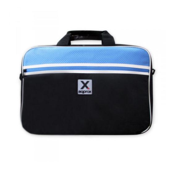 "Notebook Bag sport  APPNBS15LB 15.6"" Approx Black-light blue"