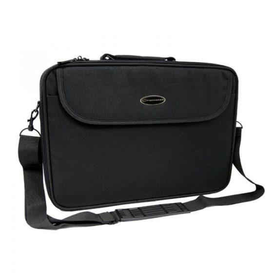 "Notebook bag έως 17"" ET103 μαύρη Esperanza"